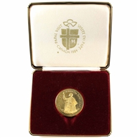 1984 Pope John Paul II - Papal Visit to Canada Medallion (Impaired)