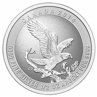 2015 Canada 1/2oz. Eagle .9999 Fine Silver (TAX Exempt)