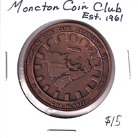 Moncton Coin Club Established 1961 Medallion