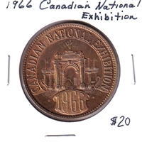 1966 Canadian National Exibition Medallion