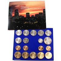 2009 USA Uncirculated Coin Set P/D in Brown Box