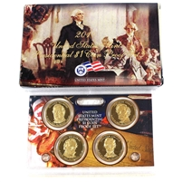 2007 USA Presidential Dollar Proof Set (light wear on sleeve)