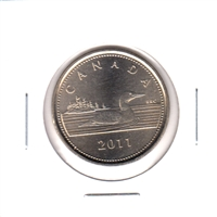 2011 Token Royal Canadian Mint Issue with Loon Depicted (size of a loon $1)
