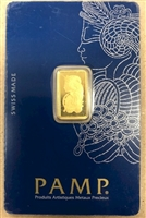 Pamp Suisse 2.5g .999 Gold Bar in Original Package (No Tax)