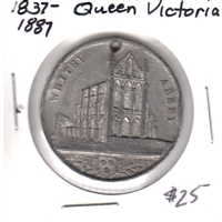 1837-1887 Queen Victoria Diamond Jubilee 'Whitby Abbey' Medallion