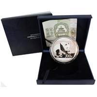 2016 China Panda Kilo Silver Proof (capsule lightly scratched) No Tax