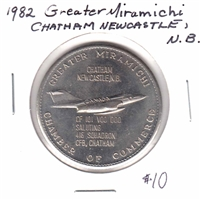 1982 Greater Miramichi Chatham Newcastle, NB Pioneer Dollar