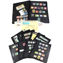 Group Lot of Assorted Nauru Stamps, 150+ Stamps