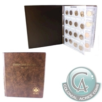 1987 to 2019 Canada Loon Dollar Collection with Deluxe Book