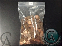 Lot of Copper Canadian Cents 5 Pounds - Shipping to Canada Only