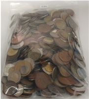5 Pounds - Mixed World Coins by the Pound