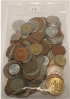 One Pound - Mixed World Coins by the Pound