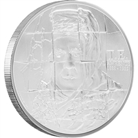 "2015 Niue T.E. Lawrence ""Lawrence of Arabia"" Silver Proof (No Tax)"