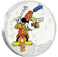 2016 Niue $2 Mickey Through the Ages - The Band Concert (No Tax)