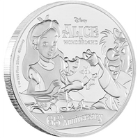 2016 Niue $2 65th Anniversary of Alice in Wonderland (TAX Exempt)