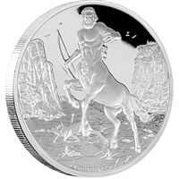 2016 Niue $2 Creatures of Greek Mythology - Centaur Silver (No Tax)