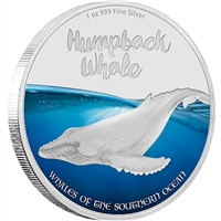 2016 Pitcairn Islands $2 Southern Ocean Whales - Humpback Whale (No Tax)