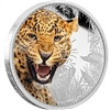 2016 Niue $2 Kings of the Continents - Jaguar Silver Proof (No Tax)
