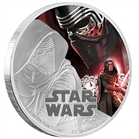 2016 Niue $2 Star Wars: The Force Awakens - Kylo Ren (TAX Exempt)