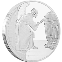 2016 Niue $2 Star Wars Classic - Princess Leia Silver Proof (No Tax)