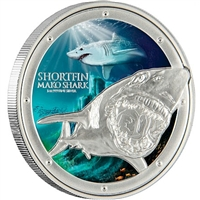 2016 Niue Ocean Predators - Shortfin Mako Shark Silver Proof (No Tax)