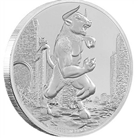 2016 Niue $2 Creatures of Greek Mythology - Minotaur (No Tax)