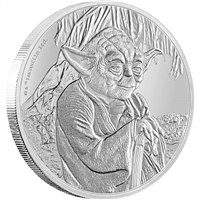 2016 Niue Star Wars Classic - Yoda 1oz. Silver Proof, (No Tax)