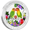 2017 Niue $2 Love is Precious - Lovebirds Silver Proof (TAX Exempt)