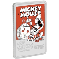 2017 Niue $2 Mickey's Revue Proof Silver (No Tax)