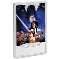 2017 Niue $2 Star Wars: Return of the Jedi 1oz. Silver (No Tax)