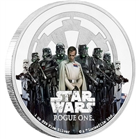 2017 Niue $2 Star Wars: Rogue One - The Empire Fine Silver (No Tax)