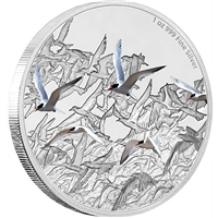 2017 Niue $2 Great Migrations - The Arctic Tern Proof Silver (No Tax)