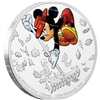 2017 Niue $2 Mickey Through the Ages - Little Whirlwind Fine Silver (No Tax)