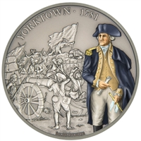 2017 Niue $2 Battles that Changed History - Battle of Yorktown Silver (No Tax)