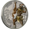 2017 Niue $2 Warriors of History - Zulus Fine Silver Coin (No Tax)