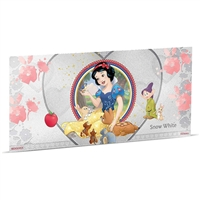 2018 Niue $1 Disney Princess - Snow White 5g Silver Coin Note (No Tax)