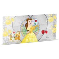 2018 Niue $1 Disney Princess - Belle 5g Silver Coin Note (No Tax)