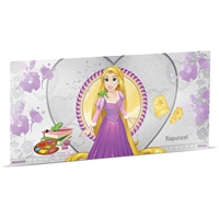 2018 Niue $1 Disney Princess - Rapunzel 5g Silver Coin Note (No Tax)