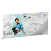 2018 Niue $1 Star Trek - Dr. McCoy 5g Silver Coin Note (No Tax)