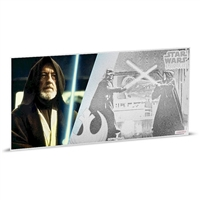 2018 Niue $1 Star Wars: A New Hope - Obi-Wan Kenobi 5g Silver Coin Note (No Tax)