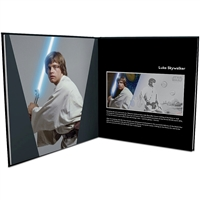 2018 Niue $1 Star Wars: A New Hope Luke Skywalker 5g Silver Coin Note w/ Collectors Album