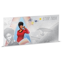 2018 Niue $1 Star Trek - Lt. Uhura 5g Silver Coin Note (No Tax)