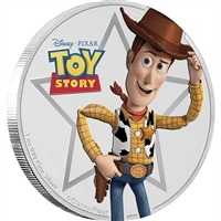 2018 Niue $2 Disney/Pixar Toy Story - Woody Silver Proof (No Tax)