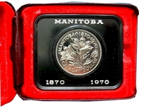 1970 Canada Cased Nickel Dollar.