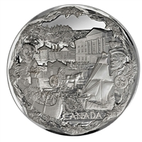 2008 Canada $250 Towards Confederation Silver Olympic Kilo (No Tax)