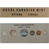 1960 Canada Stamp 3 Variety Proof Like Set - Original White Cardboard