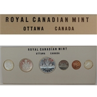 1960 Canada Proof-Like Mint Set! Original Government Cardboard Holder!!