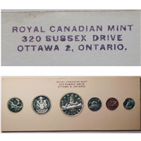 1960 Canada Stamp 4 Variety Proof Like Set - Original White Cardboard