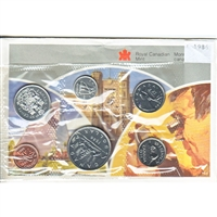 1986 Canada Proof Like Set