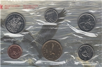1988 Canada Royal Canadian Mint Variety Proof Like Set